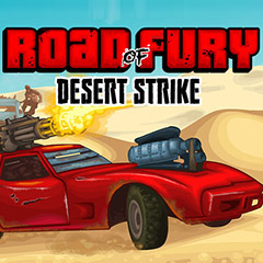 Road Of Fury: Desert Strike gameplay
