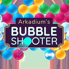 Arkadium's Bubble Shooter gameplay