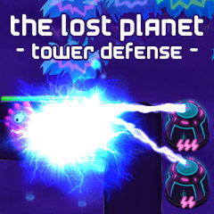 The Lost Planet Tower Defense gameplay