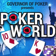 Poker World gameplay