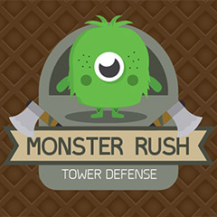 Monster Rush Tower Defense gameplay
