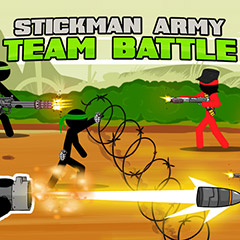 Stickman Army: Team Battle gameplay