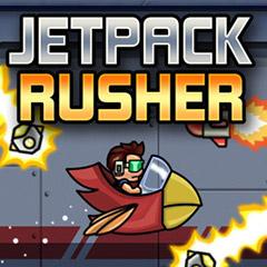 Jetpack Rusher gameplay