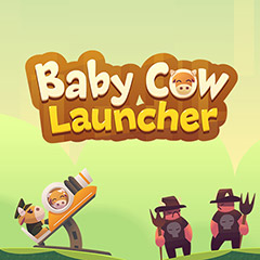 Baby Cow Launcher gameplay