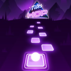 Tile Hop: EDM Rush gameplay