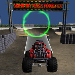 Monster Truck Freestyle gameplay