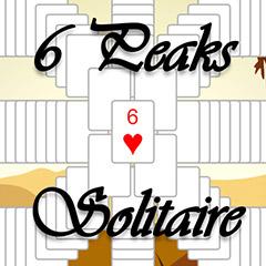 6 Peaks Solitaire gameplay