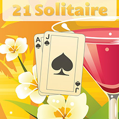 21 Solitaire gameplay